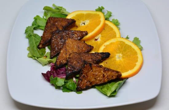 Henry's Grilled Orange Ginger Tempeh