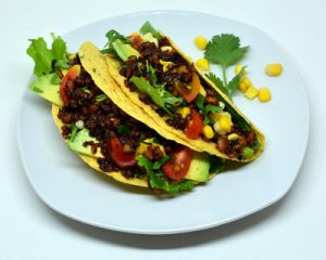Henry's Tempeh Tacos vegetarian tacos vegan tacos no meat healthy recipe