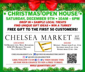 Chelsea Market Xmas Flyer