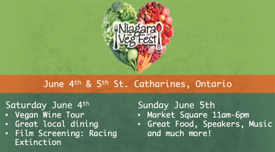 Niagara VegFest Festival Weekend
