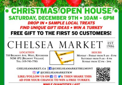 Demo & Open House at Chelsea Market